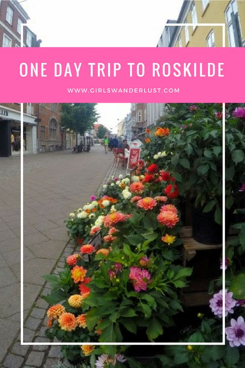 One day trip to Roskilde. The city is one of Denmark's oldest cities and was a Viking trading place more than 1000 years ago. It is located at the south end of Roskilde Fjord, so the city has a beautiful harbor. From Roskilde´s station it is very easy to