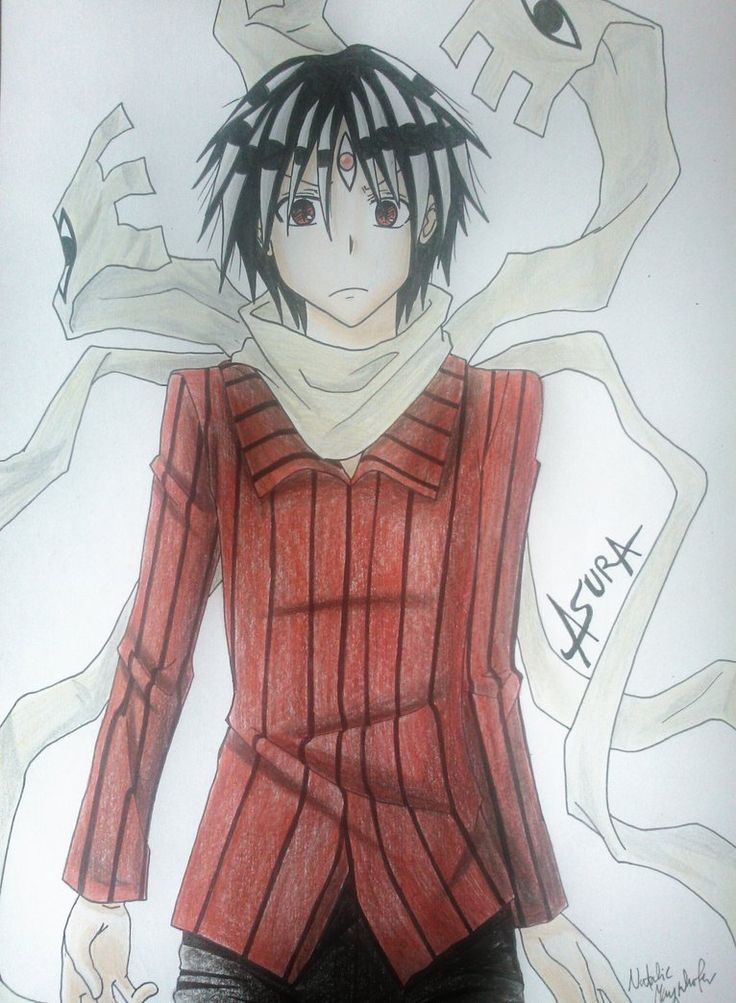 Asura by Killjoy-Chidori<< He looks so innocent and then you meet him in the anime and he's nothing like that.