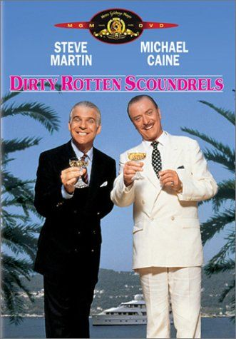 Dirty Rotten Scoundrels is a story of two con men working the Riviera town of Beaumont-sur-mer set a wager to decide which of them should have the rights to the patch. But really, with a star cast like that, who needs reasons?