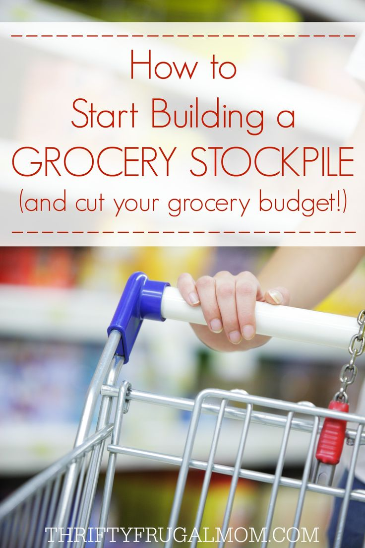 How to Start Building a Grocery Stockpile (Tips from Our $200 Grocery Budget)