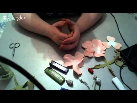 Мастер-класс Заколка с розами из фоамирана. - YouTube