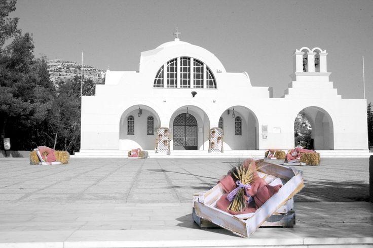 Στολισμός γάμου και βάπτισης vintage με στάχυα ,λυσίανθους ,λινάτσες και υφάσματα στο χρώμα του σάπιου μήλου