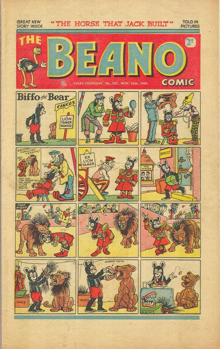 The Beano No.382 - 12th November 1949
