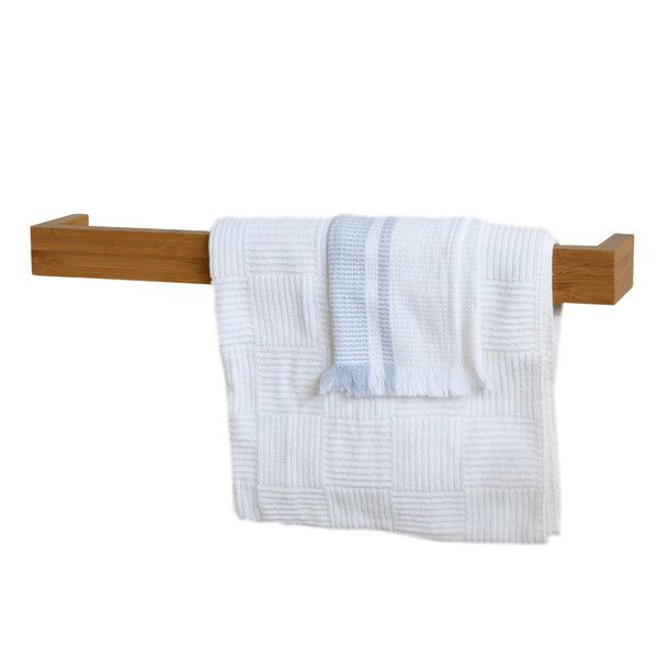 Simple Timber towel rail