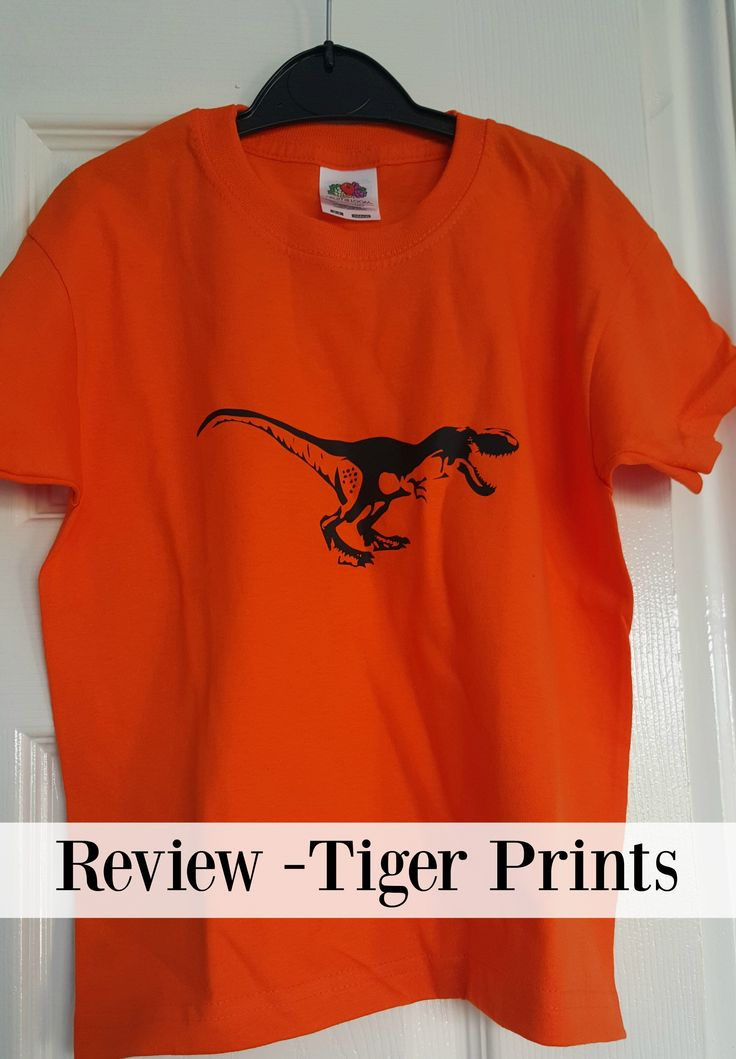 Tiger Prints t-shirt review