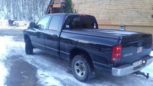 Prodám Dodge RAM 1500 4x4 SLT - 1