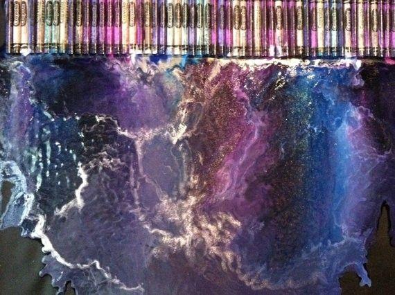 Nebula crayon art #wow