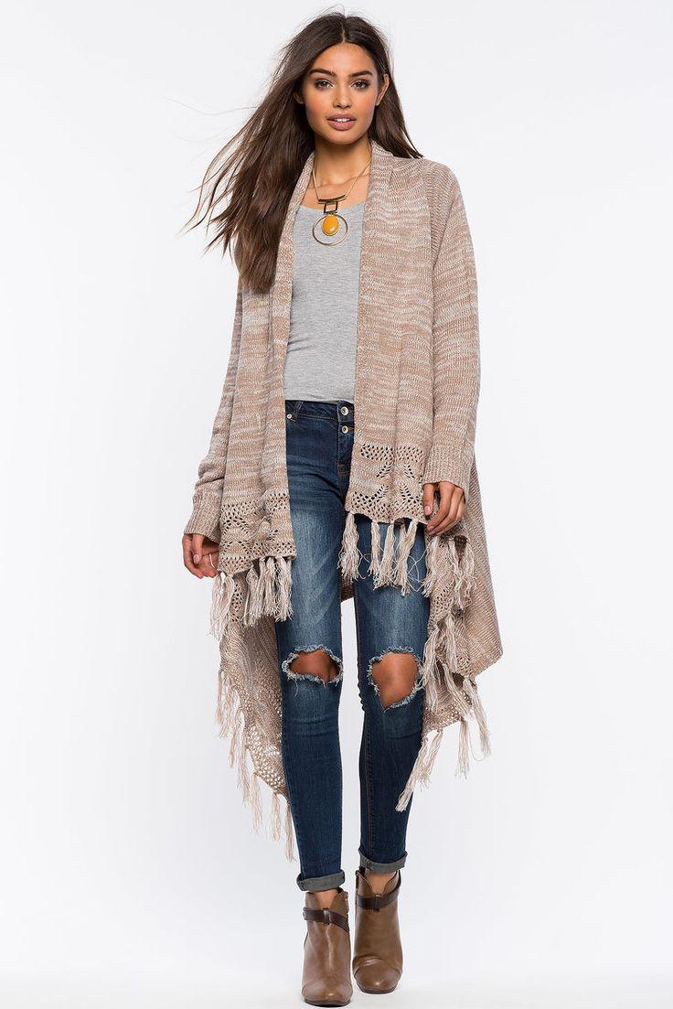 Кардиган Размеры: S/M, M/L Цвет: бежевый Цена: 1353 руб.     #одежда #женщинам #кардиганы #коопт