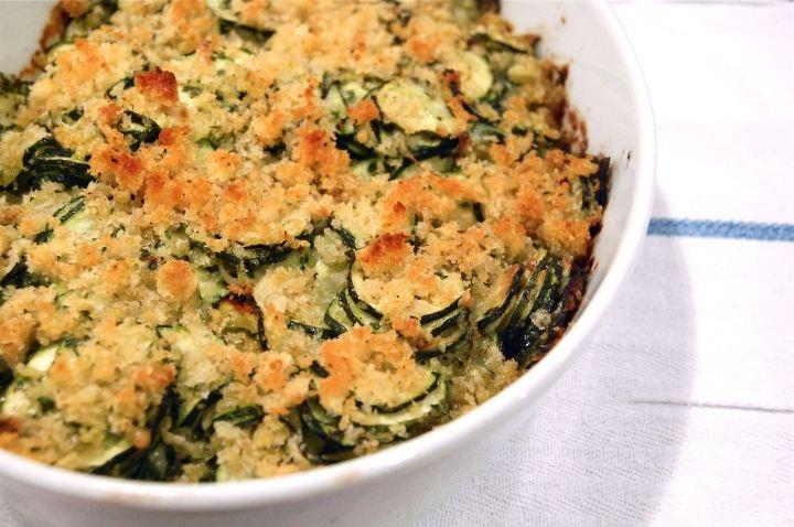 Zucchini gratin | Food | Pinterest