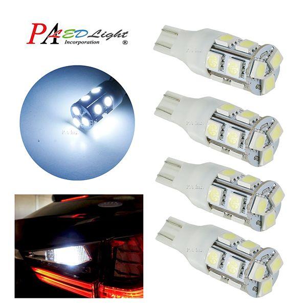 PA New Design Car Tail Light White 12V 13 SMD 5050 LED 921 W16W T16 T15 Turn Signal Lamp