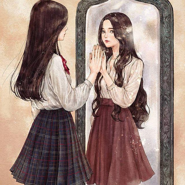 You look like me, but who are you, I know you not, where is my I / Du siehst aus wie ich , aber wer bist Du , ich kenne dich nicht , wo ist mein ich