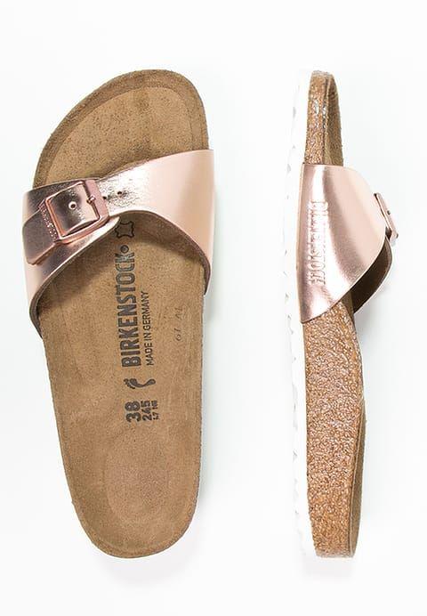 Birkenstock MADRID - Pantolette flach - metallic copper für 70,00 € (07.05.17) versandkostenfrei bei Zalando bestellen.