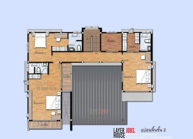 House Plans Idea 17x12 M With 4 Bedrooms Sam House Plans Building Plans House House Plans Bungalow House Design