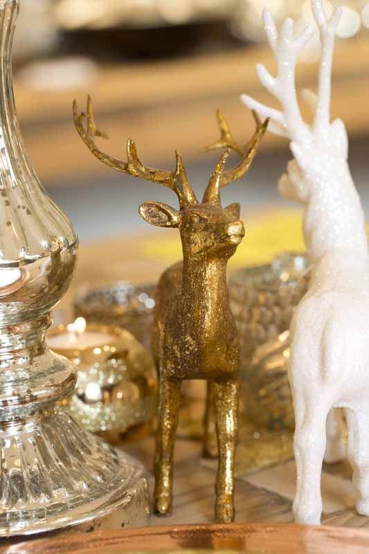 Deko Ideen in Gold & Weiß #Weihnachten
