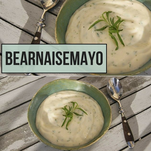 Jeg er kæmpe fan af den her bearnaisemayo. Den har alt den dejlige smag fra en klassisk bearnaisesauce og er 100 gange nemmere at lave.