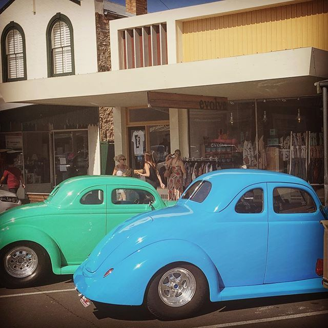 Don't forget it's the Port Fairy Rod Run's 'Show n Shine' tomorrow, Sunday 8th January with a live band at Southcombe Park Oval from 10am – 1pm!  #hotrods #portfairy #portfairyrodrun #rodders #rodrun #southwestrodders #visitportfairy #portfairypics #evolvelifestyle #moyneyanafestival #evolveportfairy #cars