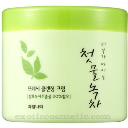 The First Green Tea Natural Facial Cleansing Cream (Fermented Green Tea) by Gwailnara. $16.95. It leaves skin clean and vibrant by removing dead skin cells and cosmetic traces. Special ingredients such as Catechins, vitamins, and minerals for skin that revitalizes and firms the skin.. It includes 20% of organically cultivated green tea extracts.. Our healthy pure product with organic green tea and extracts of spring leaves is the ultimate in skin care. You will also receive free ...