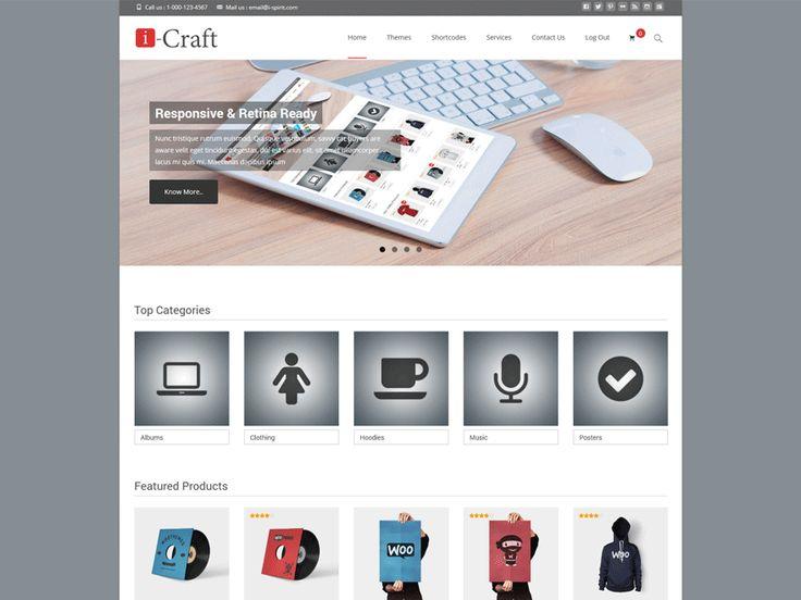 Mejores 24 imágenes de Best Free WordPress Themes en Pinterest ...