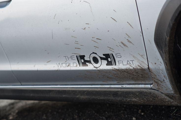 Subaru se bahna nebojí.