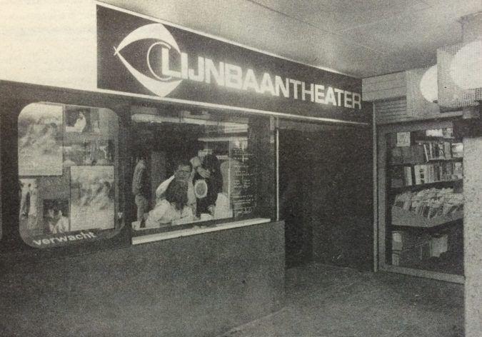 Kassa Lijnbaantheater bioscoop lijnbaan