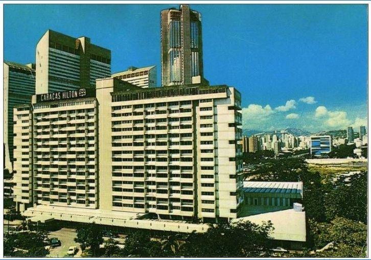 Hotel Caracas Hilton año 70