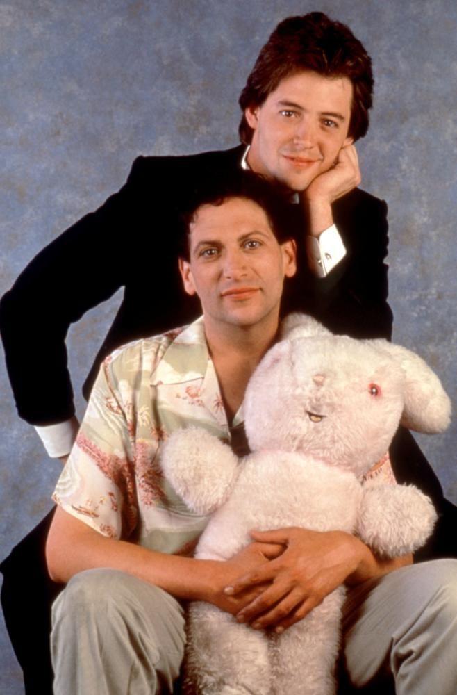 Harvey Fierstein, Matthew Broderick, 1988 | Essential Gay Themed Films To Watch, Torch Song Trilogy http://gay-themed-films.com/films-to-watch-torch-song-trilogy/