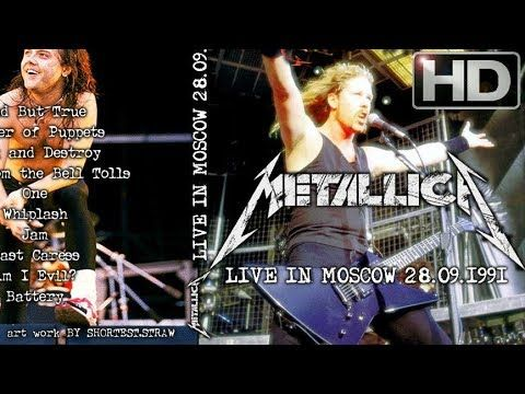 Live in Moscow 1991 09 28