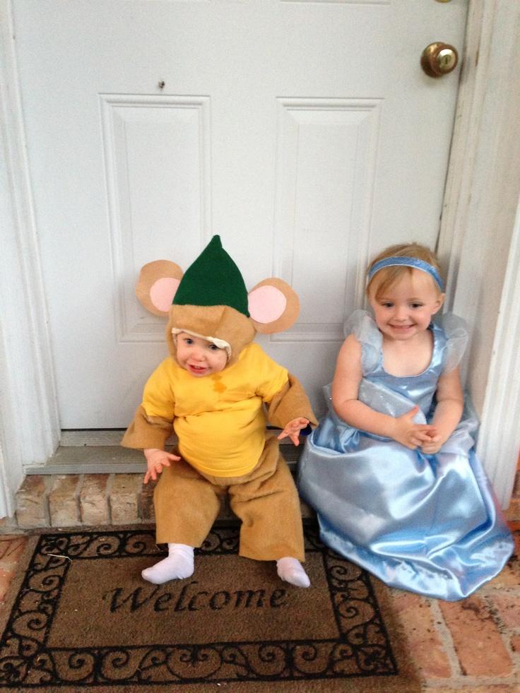 Cinderella and Gus Gus costumes perfection!  sc 1 st  Pinterest & 20 best Halloween Cinderella 2016 images on Pinterest | Cinderella ...