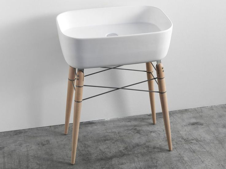 Ray Freestanding Washstand by Michael Hilgers