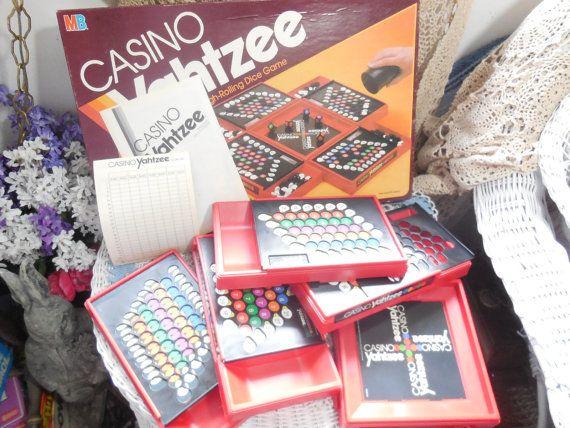Casino Yahtzee Game 1986 by Daysgonebytreasures on Etsy