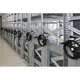 Estanterías sobre Bases Móviles con nuestro producto específico para cargas ligeras. https://www.esmelux.com/galeria-de-estanter%C3%ADas-sobre-bases-m%C3%B3viles