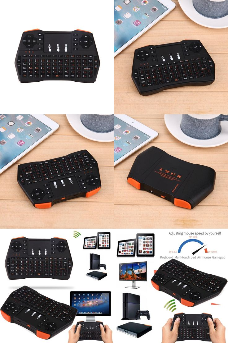 [Visit to Buy] Russian Wireless Keyboard i8 Plus Mini Teclado Sem Fio Gaming Klavye with Air Mouse Touchpad for Smart TV PC for Xbox360 for PS3 #Advertisement