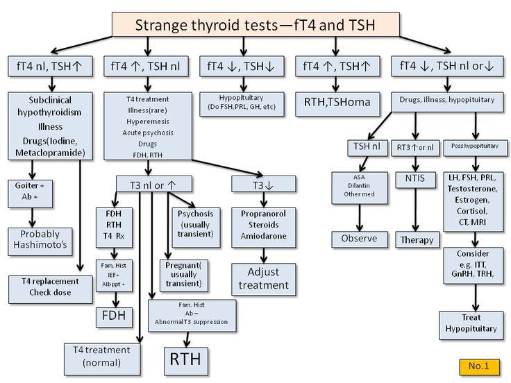 Strange Thyroid Function Tests - Thyroid Disease Manager Algorithms