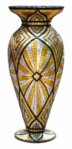 VASE Jacqueline Iskander Jacqueline Iskander Mosaics Tulsa, Oklahoma USA... <3<3<3