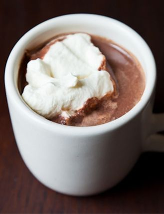 This hot chocolate recipe is SO good.