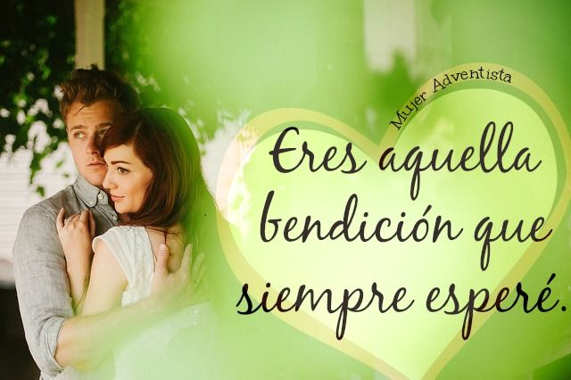 Eres aquella bendición que siempre esperé. // u're that blessing I ever expected // #Love #Amor  #Novios #Pareja