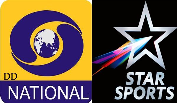 IND vs SL Today Live Telecast On Hotstar, DD National, Star Sports TV Channel. Doordarshan DD Free Dish Broadcast ICC Champions Trophy 2017 Match Streaming