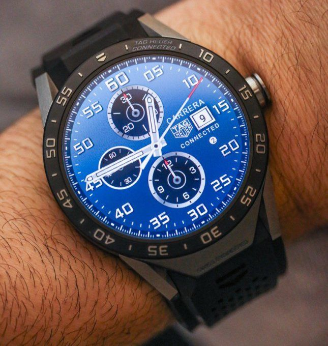 TAG Heuers CEO is bullish about wearables as he tips the companys next smartwatch