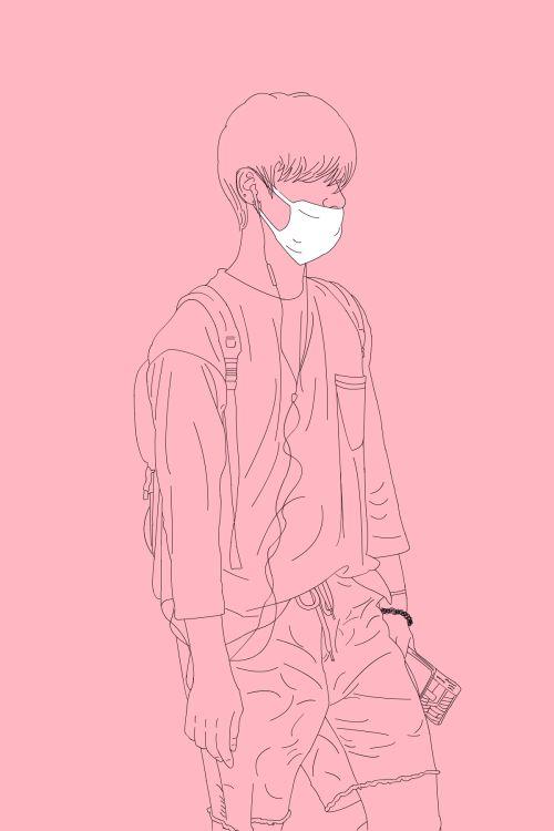 NCT U Ten | line art