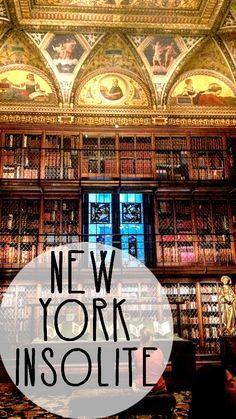 Une liste des meilleures adresses cachées et insolite que l'on peut trouver à New York City!