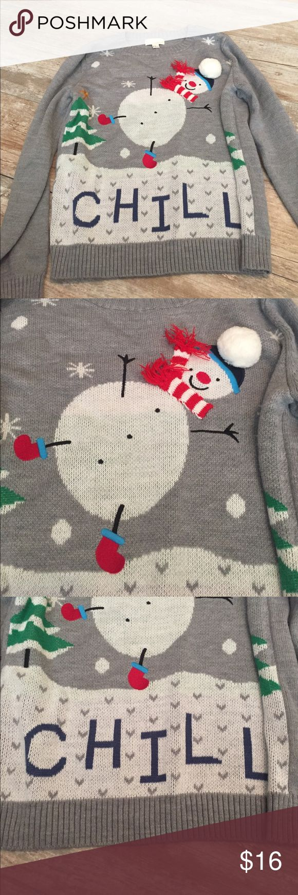 Forever 21 plus size 1x Christmas sweater Forever 21 women's plus size 1x Christmas sweater Forever 21 Sweaters Crew & Scoop Necks