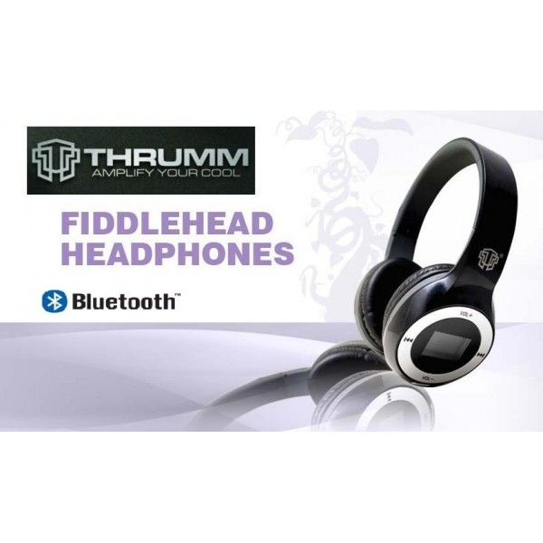 Универсальные беспроводные наушники THRUMM - Bluetooth FM SD