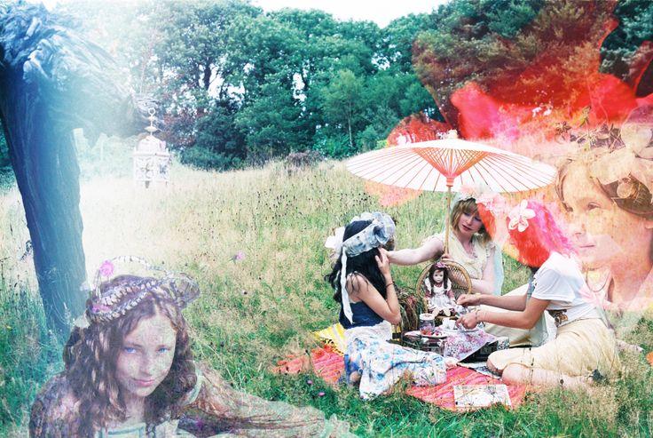 'The Princess' Picnic' Photography: Blair Alexander Massie (B.A Marauder) blairalexander.tu... | Concept/Design/Styling/Makeup: Alice Halliday etsy.com/shop/alicehalliday | Hair: Faye Mazani | Models: Tara Farley, Clara Kearney & Alice Halliday | Location: Liss Ard Estate, Skibbereen, Co. Cork, Ireland