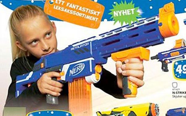 Girls will be boys in Swedish Toys R Us advert - what's wrong with that? - Telegraph