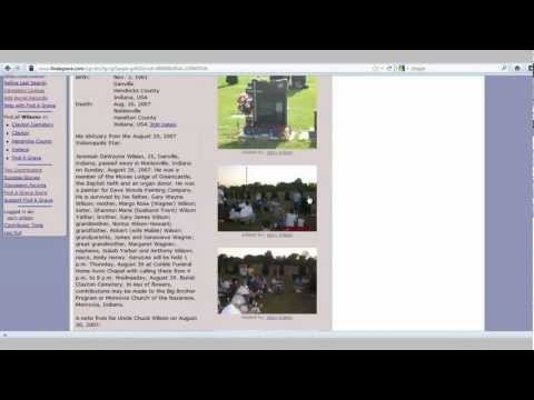Find-A-Grave Search-and-Post