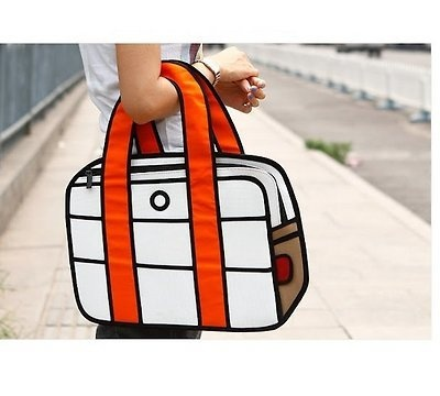 real bag that looks like a drawing