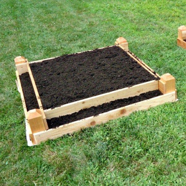 Diy Tiered Raised Garden Bed Plans Free Pdf Saws On Skates Raised Garden Bed Plans Garden Beds Raised Garden Beds