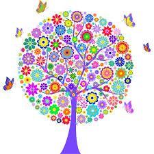 Resultado de imagen para arboles con flores