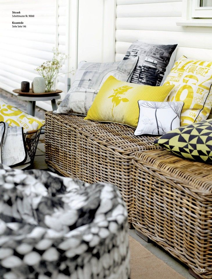 stoff und stil home decor pinterest yellow. Black Bedroom Furniture Sets. Home Design Ideas