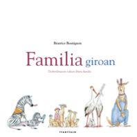Jolas-liburu honetako animaliak familiatan bilduta daude: antzekoak dira, baina, aldi berean, desberdinak.